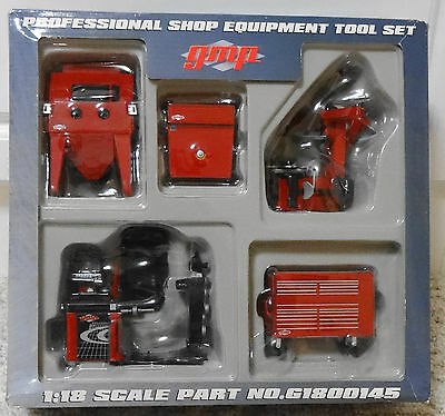 New GMP 1:18 Scale Professional Shop Tools for Garage Diorama Shop