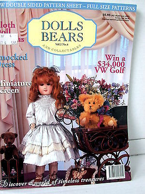 DOLLS BEARS  & COLLECTABLES  techniques patterns clothes tips ideas VOL  2  NO 4