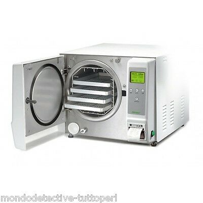 Autoclave Kronos S 18Litres Class S Sterilization In Pack E Not,stainless Steel