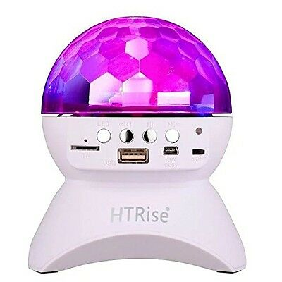 HTRise 2nd Version Wireless Bluetooth Disco Ball Lamps Speaker Sound Control