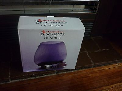 maxwell williams vase glacier purple w8006p