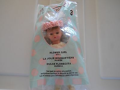 McDonald's 2003 Madame Alexander Doll #3 Flower Girl Happy Meal Toy New