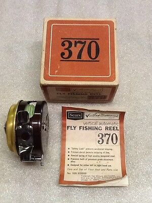 Vintage Sears Ted Williams Vertical Automatic Fly Fishing Reel