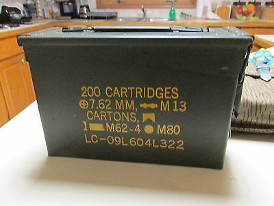 .30 Cal/7.62Mm Ammo Can!! Mint And Ready To Go Bang!! Perfect As Pictured!!