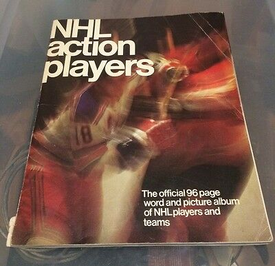 1974-75 Loblaws Action Players NHL Hockey Sticker - COMPLETE SET