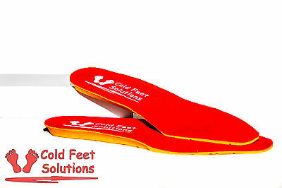 Foot Warmers, Heated Insoles with Remote: LARGE