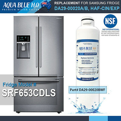 Samsung DA29-00020B Premium Compatible Ice & Water Fridge Filter SRF653CDLS