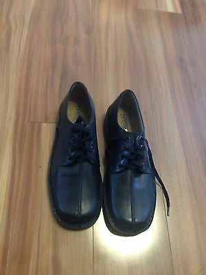 Harrison Black Leather School/Dress Shoes Size 6 M New With Box