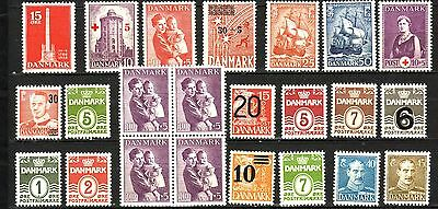 Denmark - Small Collection -  - All Mnh