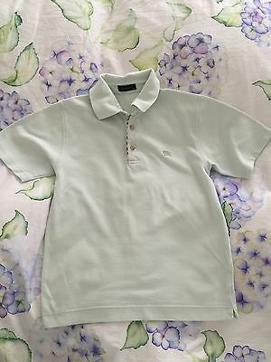 Genuine Mint Green Burberry Top Polo Shirt For Boys 8-10 Years