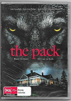 The Pack (DVD, 2015)(Horror)New & Sealed Region 4 Free Post
