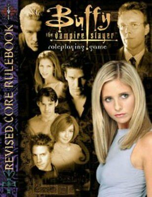 Buffy The Vampire Slayer Roleplaying Game Core Rulebook. Rpg Oop