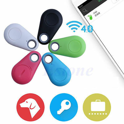 Smart Bluetooth GPS Locator Tracer Tag Alarm Wallet Key Dog Bag Tracker Finder