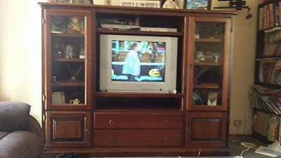 Solid Timber TV Cabinet