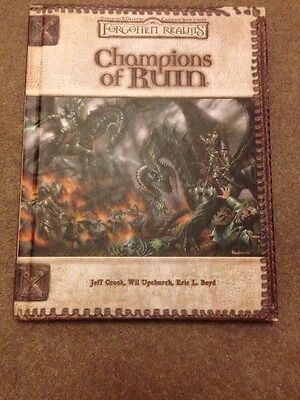 Dungeons And Dragons Forgotten Realms Champions Of Ruin