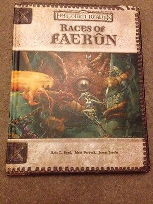 Dungeons And Dragons Forgotten Realms Races Of Faerûn