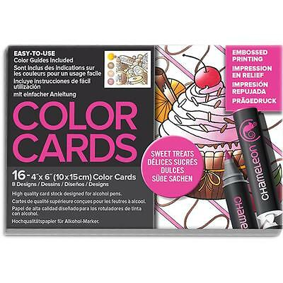 Chameleon Color Tones Colour Cards SWEET TREATS - for alcohol markers