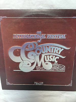 2 Lp Records The International Festival Of Country Music