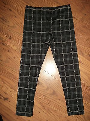 Girls Checked Leggings Age 5-6 Years By George