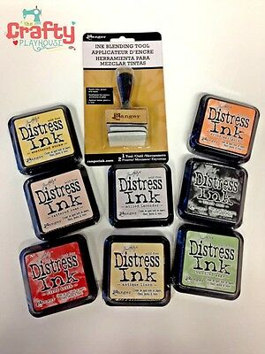 Tim Holts Ranger Distress Full Size ink Pads for card making & craft projects