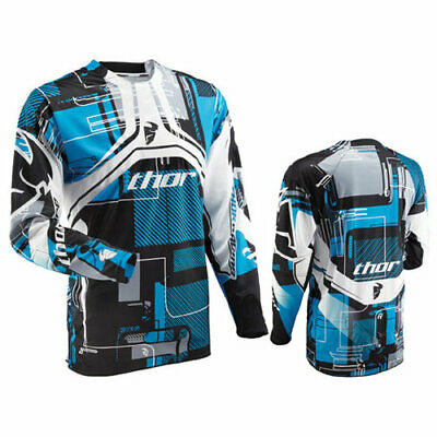 Completo Thor Flux Circuit Cyan  Taglia 34/50  E Xl Cross Enduro