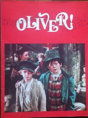 "1968 Film Brochure/""oliver!""/ Ron Moody, Shani Wallis, Oliver Reed"