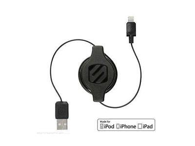 SCOSCHE I2R Strikeline Pro Retractable Charge and Sync Cable for Lightning Devic