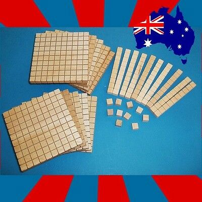 MAB Blocks: 10 Hundreds, 10 Tens and 10 Ones