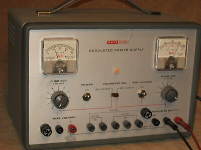 EICO 1030 High Voltage Variable Power Supply, restored
