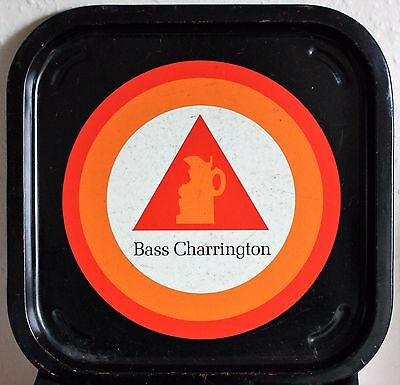 BASS CHARRINGTON Vintage 1960's Advertising  Bar  Drinks Tray Retro.