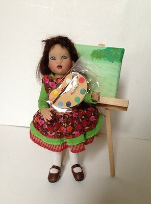 "Accessories By Helen Kish For Riley In Monet Garden, Lawton Or Similar 7-9"" Doll"