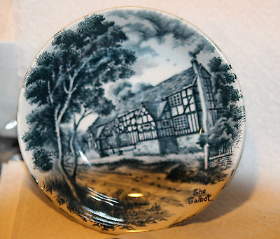 Beautiful Grindley Staffordshire England English Country Inns Dish