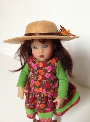 Outfit By Helen Kish For Doll Riley In Monet Garden