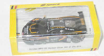 1/43 Spark McLaren MP4-12C GT3  24 Hrs Spa 2014  Boutsen Ginion #16