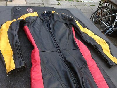 One Piece motorcycle leathers size 36 or 10 ladies