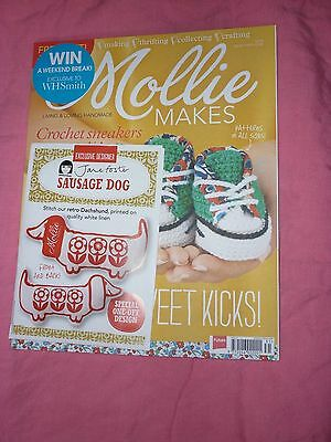Mollie makes crafting magazine issue 31