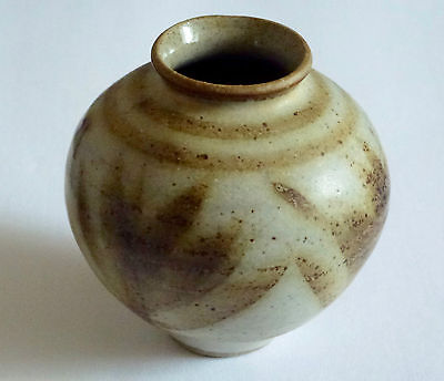 Studio Pottery-Vase-Hand Thrown & Beautifully Hand Crafted- Vase-Signed.