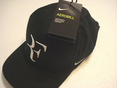 Black Nike Roger Federer RF  Hat colour 011- new Design Aerobill CLC99