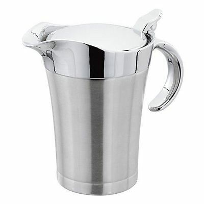 Judge Thermal Insulated Double Wall Gravy Sauce Boat Serving Jug With Lid 650ml