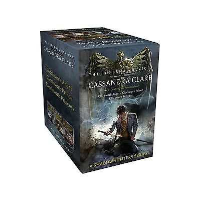 The Infernal Devices The Complete Collection: Clockwork - Cassandra Clare NEW