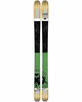 LINE SUPERNATURAL 92 186cm FREERIDE ALL-MOUNTAIN SKIS 2017