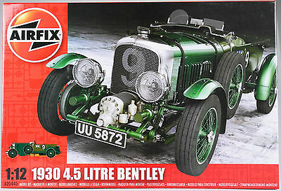 AIRFIX 1:12 Bentley 4.5 Litre, 1930, Automodell, Bausatz (Re-Release)