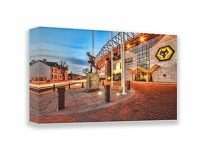 Wolves Molineux Canvas (Billy Wright) 24 x 16 inch