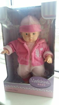 Madeleine baby doll NEW/BOXED by sunshine baby 2+ Simba