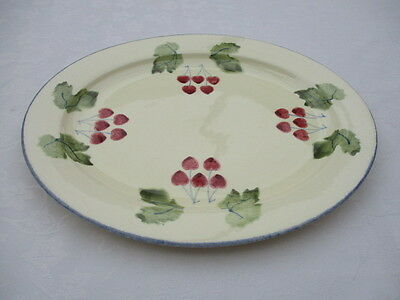 poole pottery dorset fruits serving platter/plate