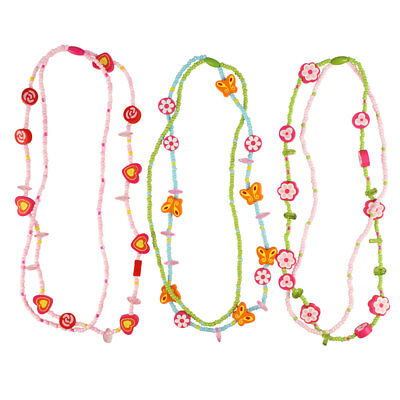 Bigjigs Toys Heart Necklaces (Pack of 3)