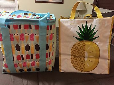 Market Style Tote and Thermal Tote