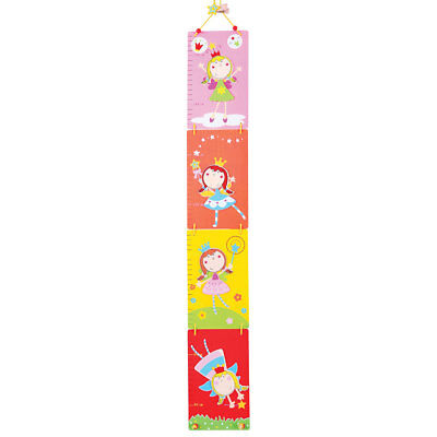 Bigjigs Toys Wooden Fairy Themed Height Chart