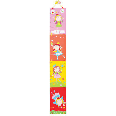 Bigjigs Toys Wooden Height Chart (Fairy)
