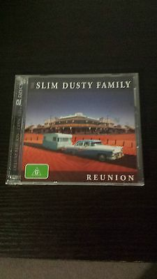 The Slim Dusty Family Reunion CD's. 2 discs. like new.